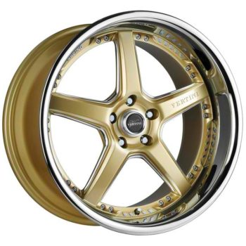 Vertini Drift Gold with Stainless Steel Lip