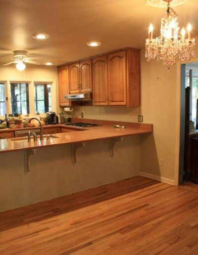Hardwood Floor Kitchens