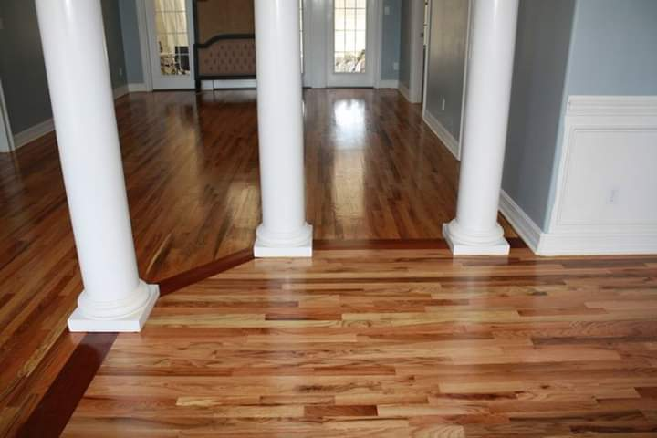 Tallahassee Hardwood Staircase