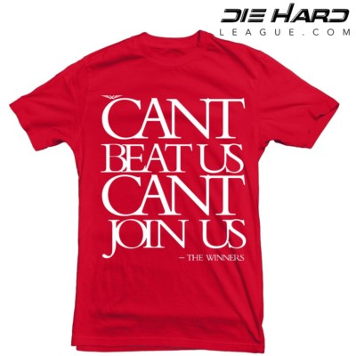 Arizona Cardinals Shirt – Cant Join Us Red Cardinal Tee