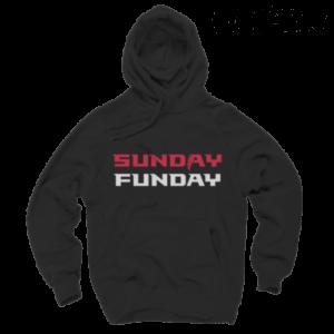 Atlanta Falcons Hoodies - Sunday Funday Black Hoodie