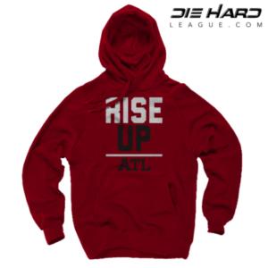 Atlanta Falcons Sweatshirts - RISE UP Red Hoodie
