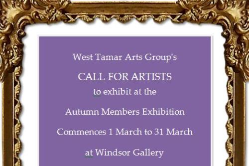 Call for WTAG Members to Exhibit at Windsor Gallery