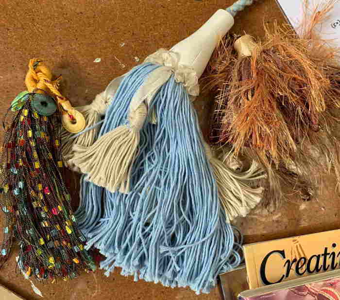 Tassel Workshop at Exeter Art Studios