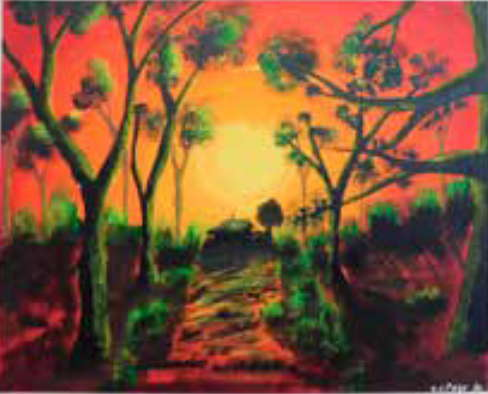 Cadorna House Aged Care Art Therapy Exhibition