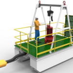 Dredge Barge and Pump Float – 1