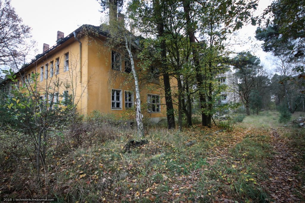 Abandoned Third Reich Training Camp