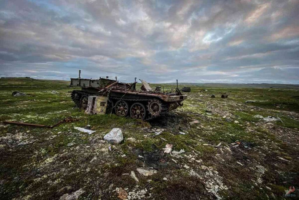 Abandoned Military Equipment Found on The Russian Kildin Island