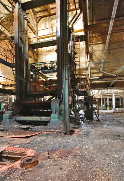 Abandoned Curtis Paper Mill in NJ'