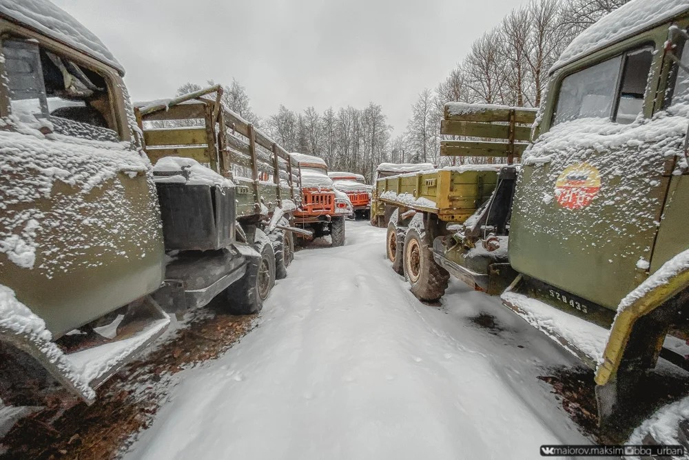 Abandoned Russian Military Vehicle