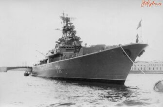 Abandoned Military Krivak-class frigate Project 1135: Indomitable