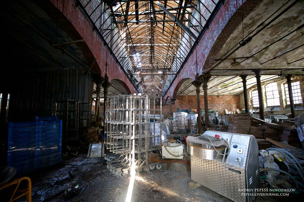 Abandoned Meatpacking Plant in Kaliningrad