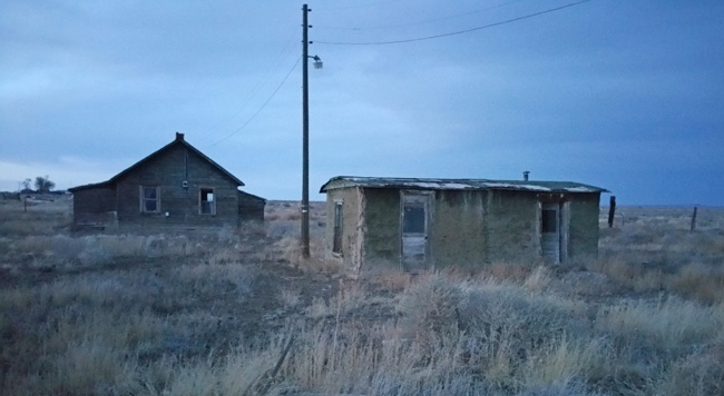 Eerie Ghost Town of Model, Colorado and Abandoned School in Tyrone