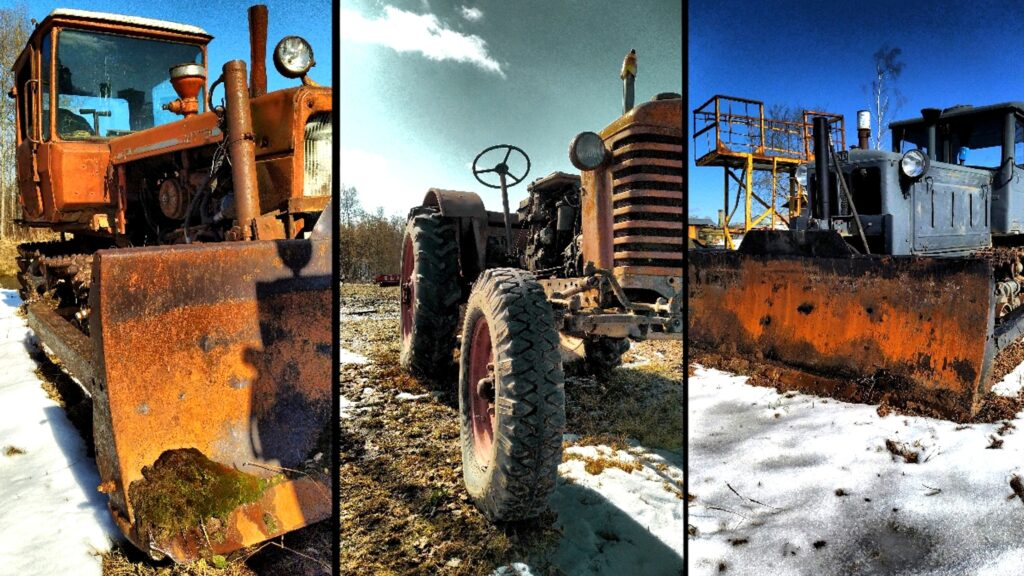 Abandoned Soviet Agricultural Machine