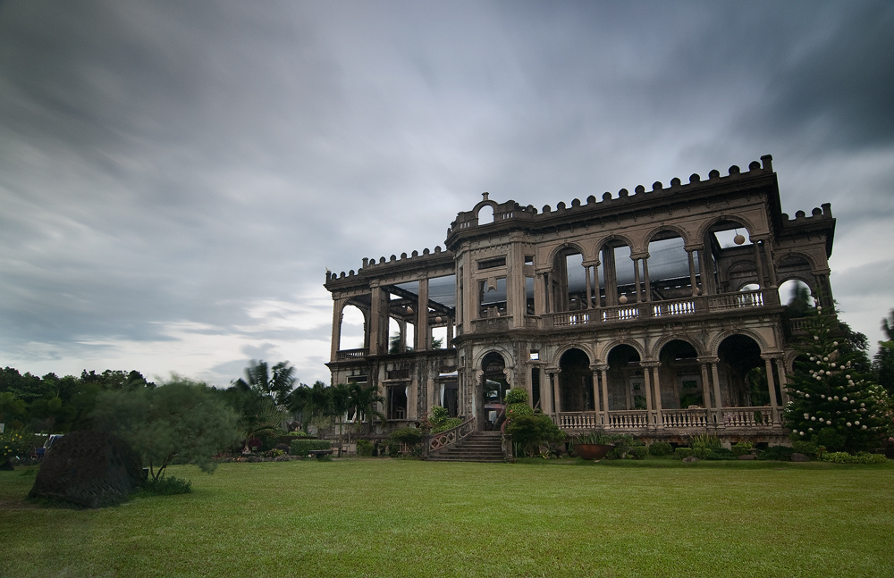 An abandoned mansion in Talisay City of the Philippines