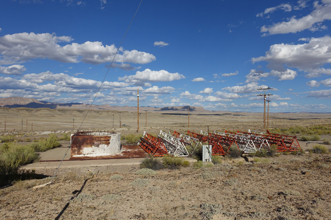 Abandoned Green River Launch Complex in Utah