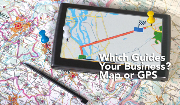 Which Guides Your Business Map or GPS - Marvin Carolina