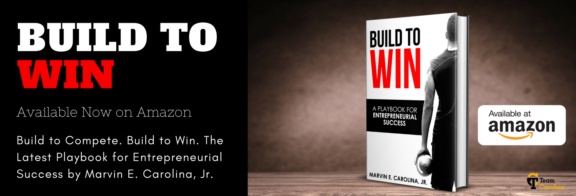 Build to Win Book by Marvin Carolina, Jr.