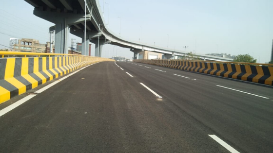 The first level flyover at the Biodiversity junction at Gachibowli is Inaugurated and ready to Ride