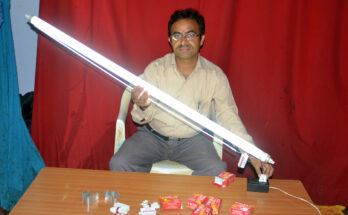 Telangana Engineer Brings 10 Lakh Dead Tube Lights to Life With Patented Formula