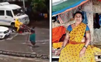 Mumbai Super Women Kanta Myrti Kalan, Stood for 7 hours Near Manhole Amid Rain to Save People