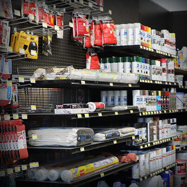 Paint Supplies, Sand Paper, Painters Plastic, Painters Canvas