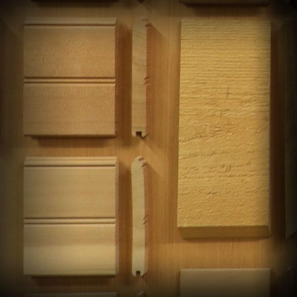 Trim Boards, Pine, Cedar