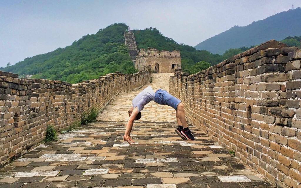 Back Flip - Great Wall - China