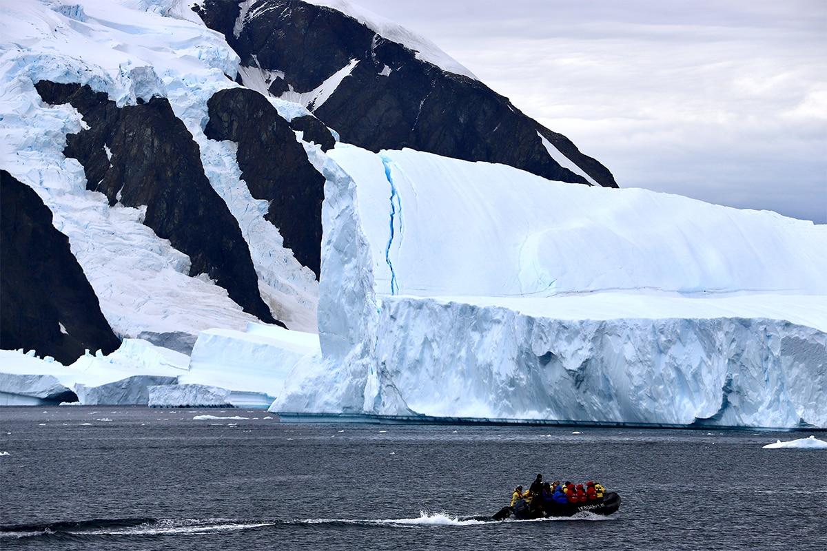 Antarctica from the Ocean