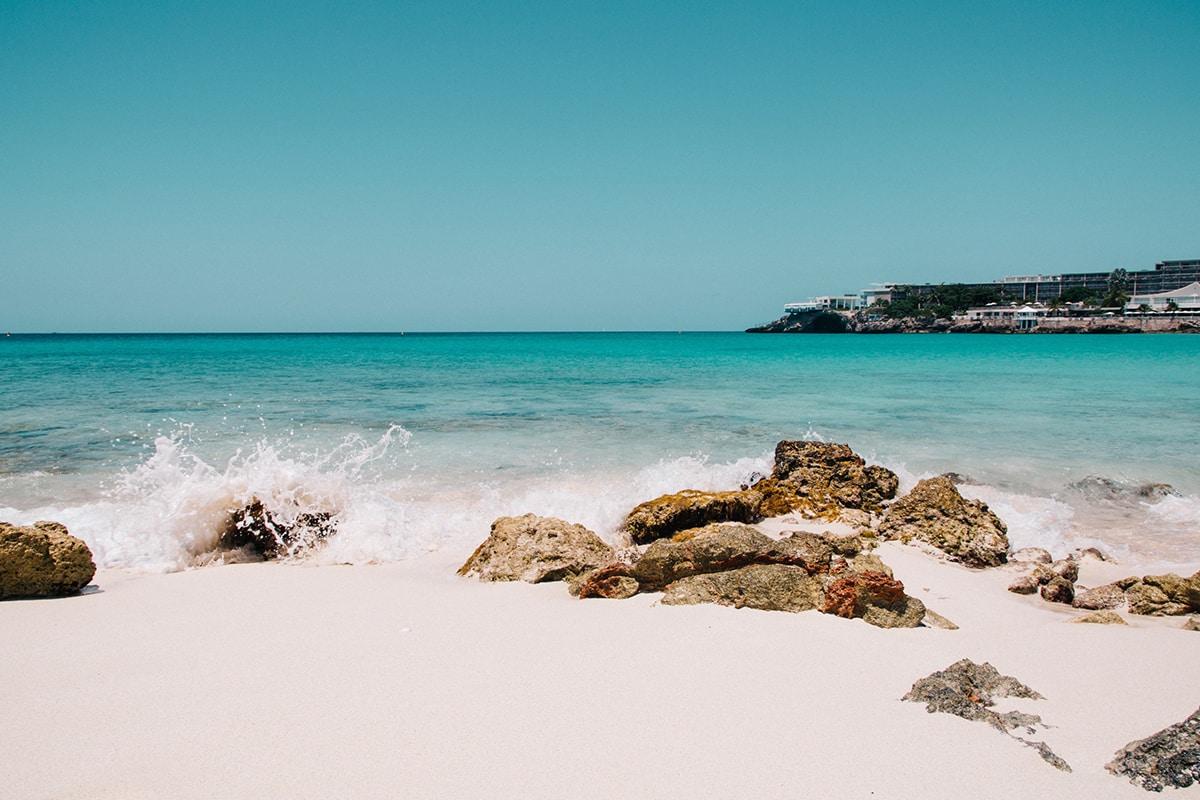 Sint Maarten beach