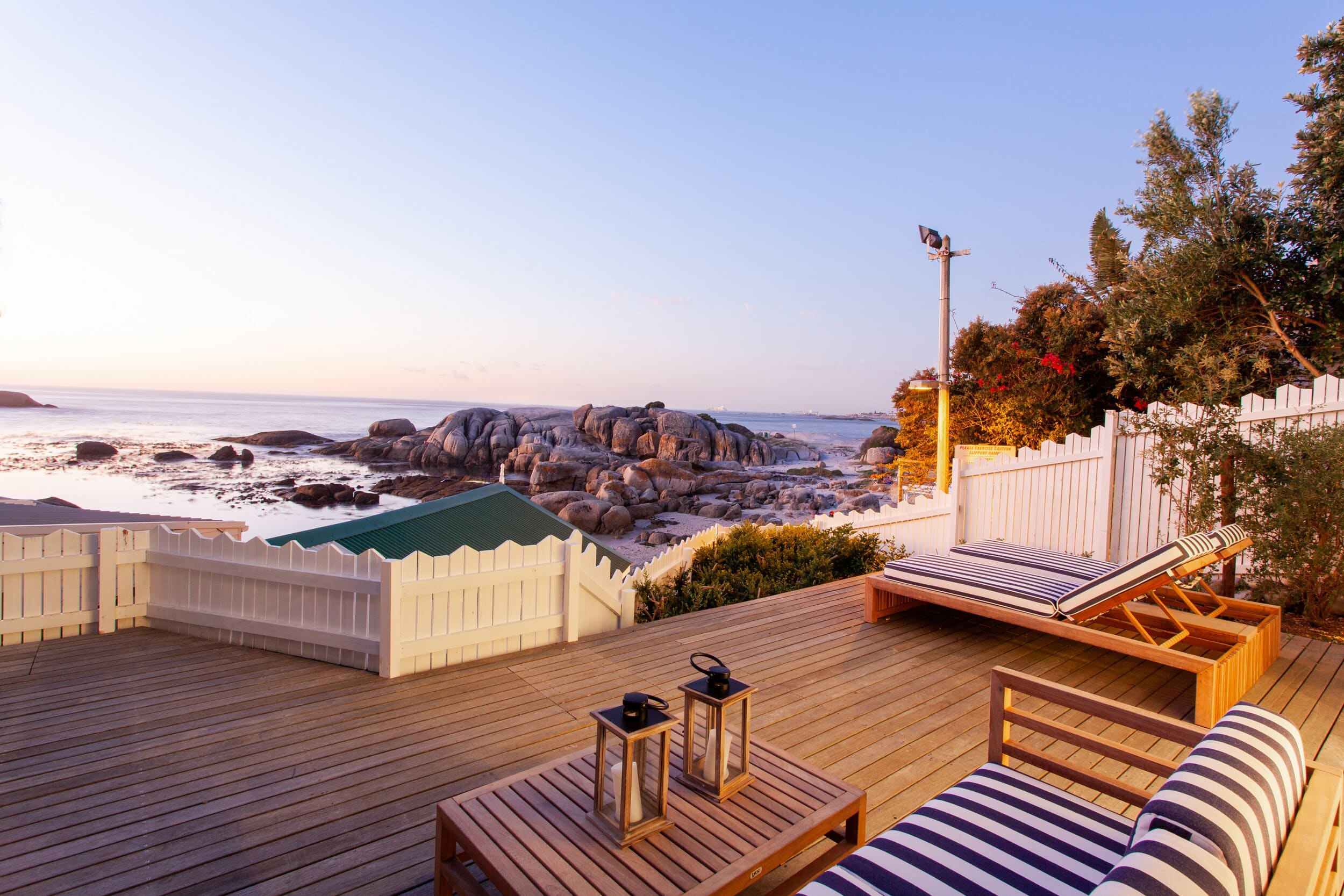 Bakoven beach house in South Africa