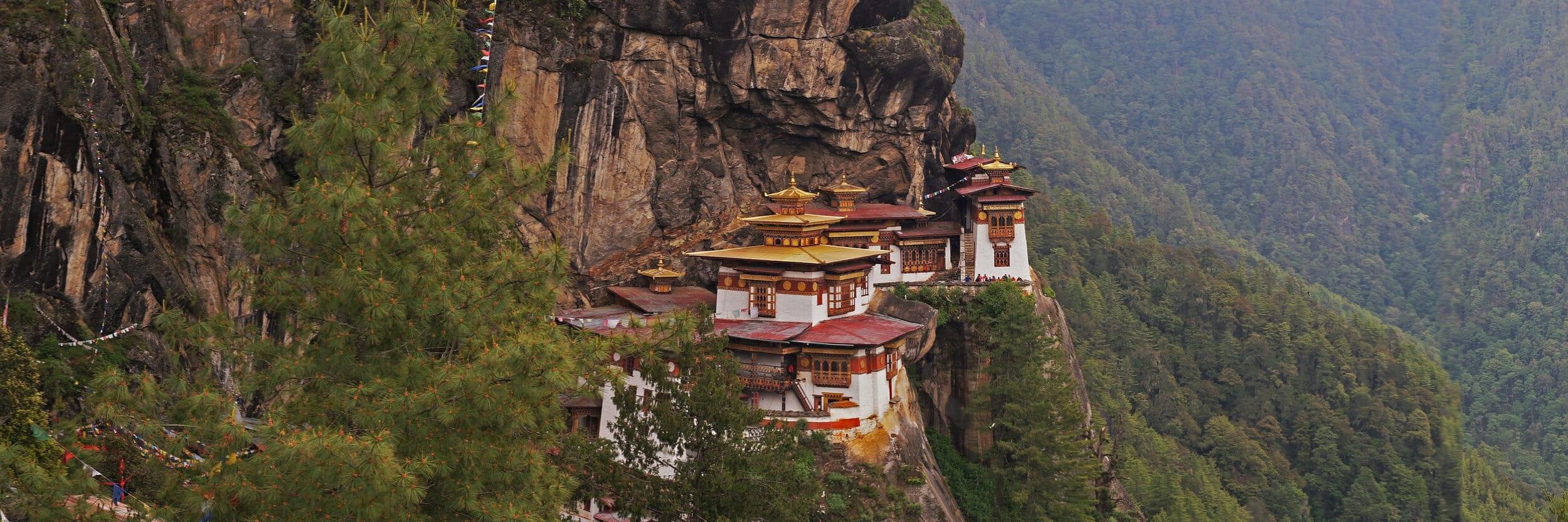 Bhutan Cliff