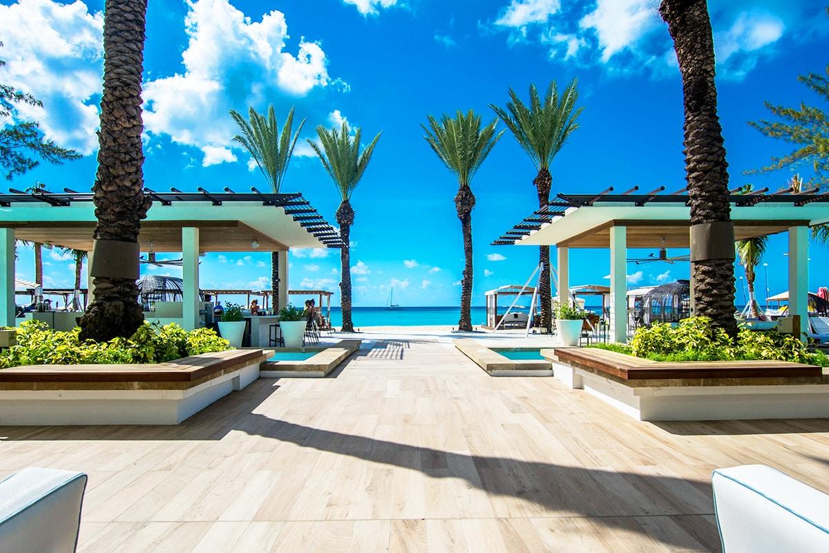 Cayman Islands beach front hotel