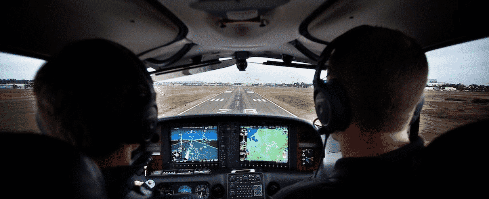 Philip Nijnens and Ronnie Greathouse Flying Cirrus SR22