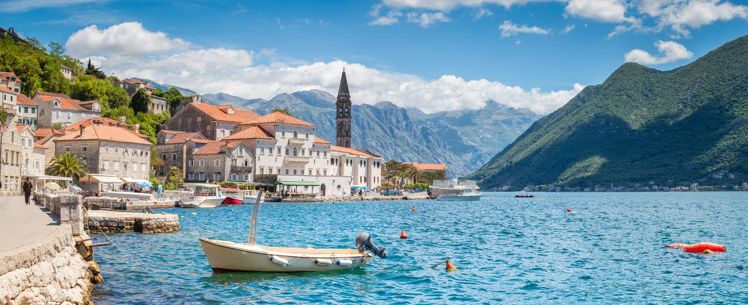 Montenegro lake view
