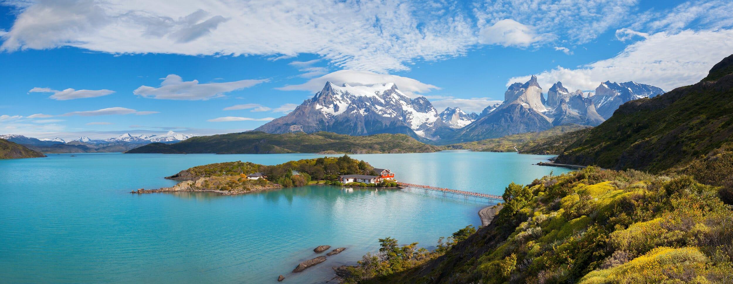 Patagonia lake view