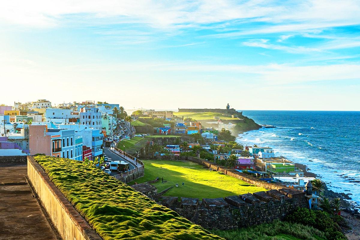 San Juan seaside
