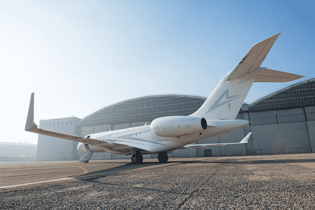 Avian Jets Branded Jet