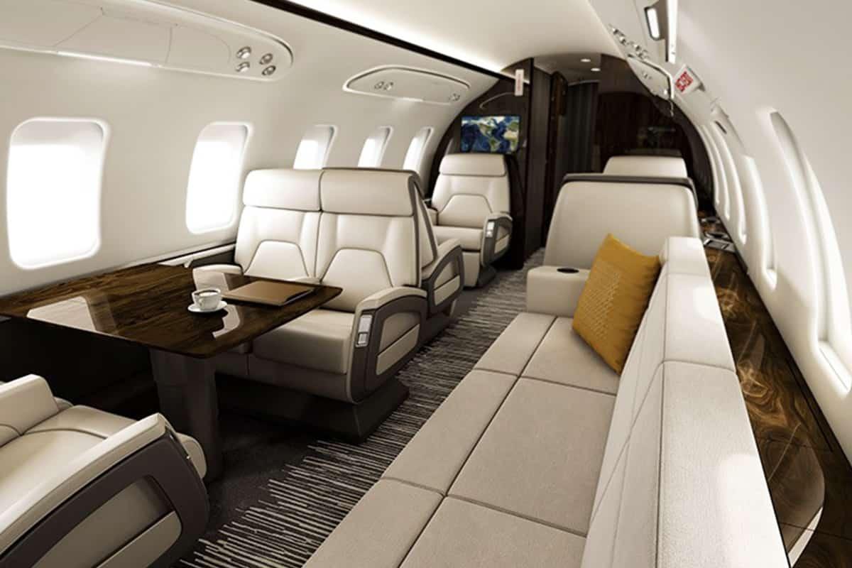 Bombardier Challenger 650 Interior