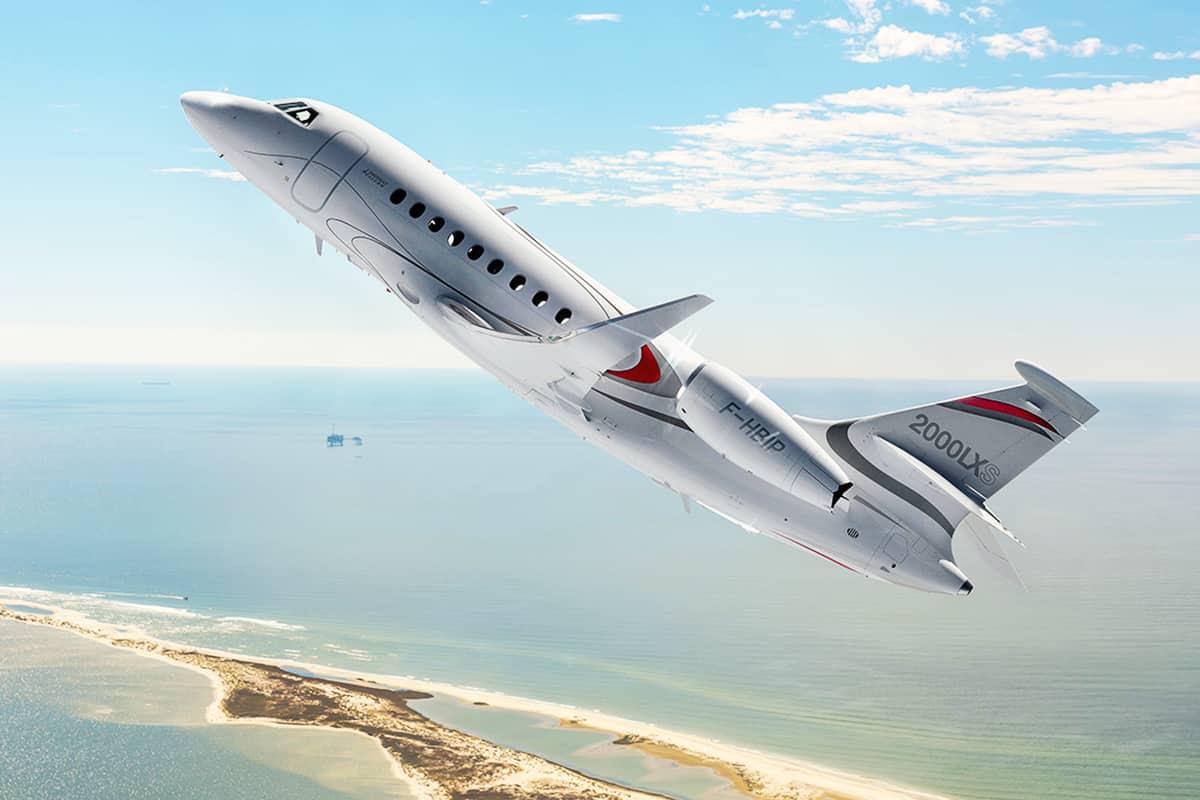 Dassault Falcon 2000 XLX Exterior