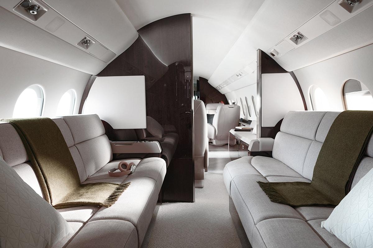 Dassault Falcon 900LX Interior