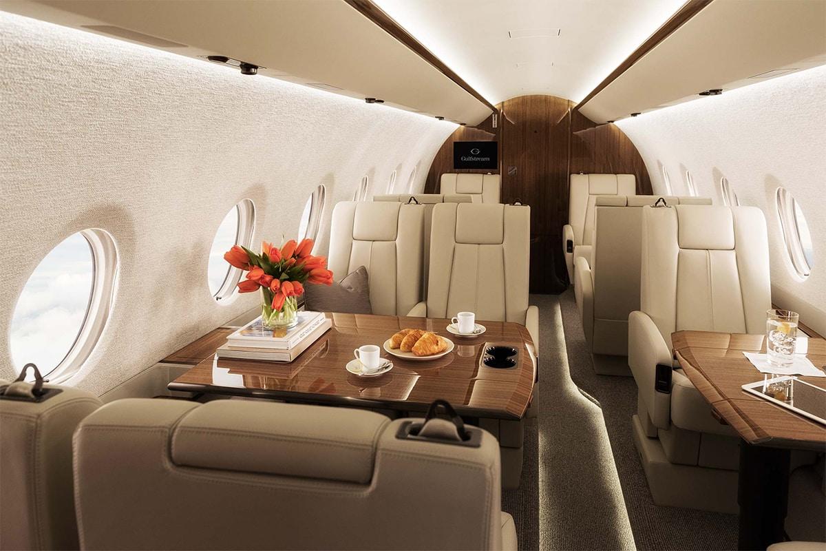 Gulfstream G280 Interior