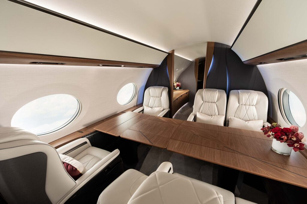 Gulfstream G700 Dinning table