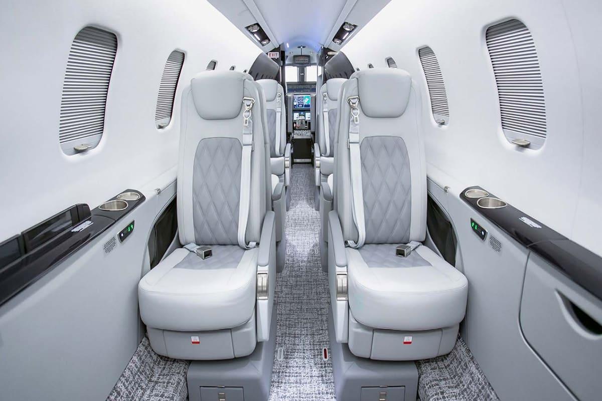 Lear Jet 75 Interior