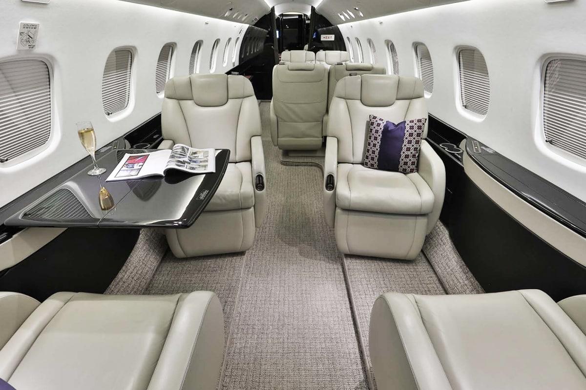 Legacy 650 Interior