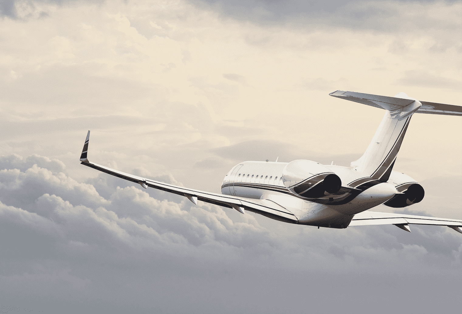 Global Jet Mid Air