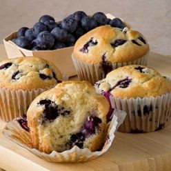 Blue Ribbon Blueberry Muffins