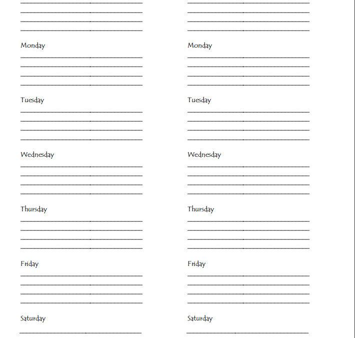 Meal Plan PDF