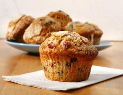 Cranberry, Orange, & Pecan Muffins