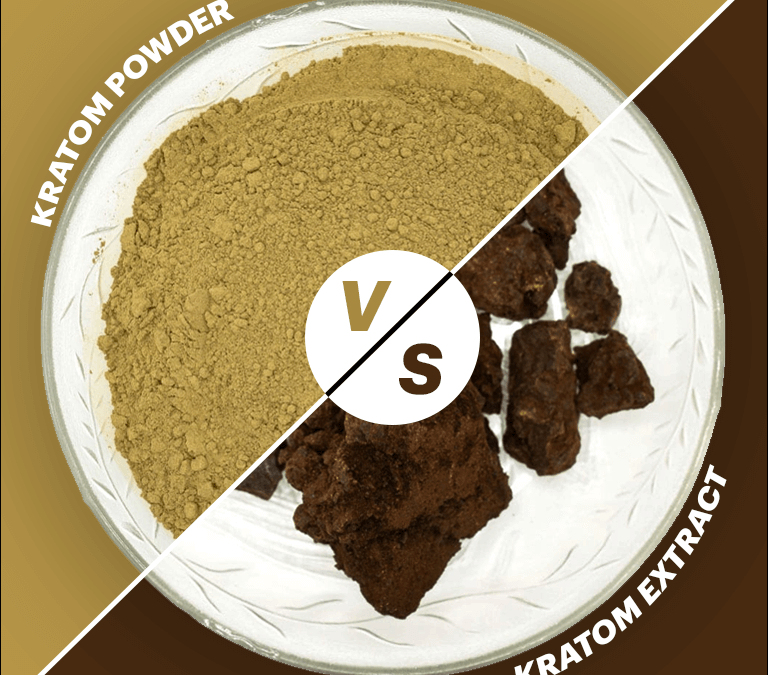 Kratom liquid Extracts Vs Kratom Powder Extracts
